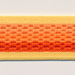 Gradation Mesh Tape  #3 Banana Cream & Orange Mix