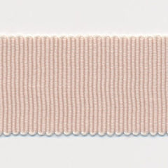 Chambray Grosgrain Ribbon  #2 Ivory Cream