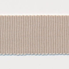 Chambray Grosgrain Ribbon  #4 Fog