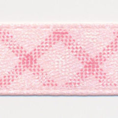 Check Print Ribbon  #1 Crystal Pink