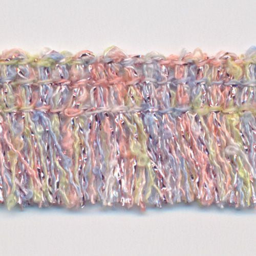 Multi Color lame Fringe  #1 Light Pink Mix