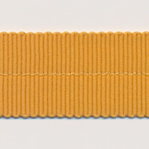 Polyester Grosgrain Ribbon (Soft Stretch)  #166 Inca Gold