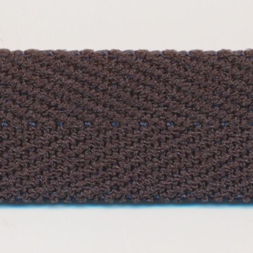 Polyester Herringbone Ribbon (Soft Stretch)  #105 Shale