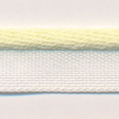 Bright Piping Tape  #04 Pastel Yellow & White