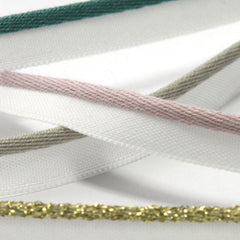 Bright Piping Tape  #12 Tourmaline & White