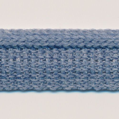 Knit Mix Piping  #7 Faded Denim