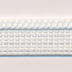 Chain Knit Piping  #01 White