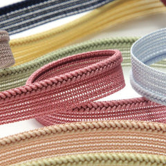 Chain Knit Piping  #111 Jojoba