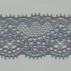 Stretch Trimming Lace  #159 Steel Gray