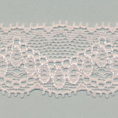 Stretch Trimming Lace  #60 Crystal Pink