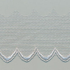 Embroidered Tulle Lace  #100 Gray Violet