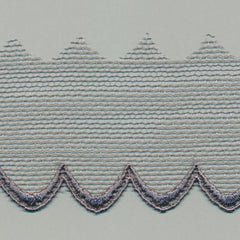 Embroidered Tulle Lace  #159 Steel Gray