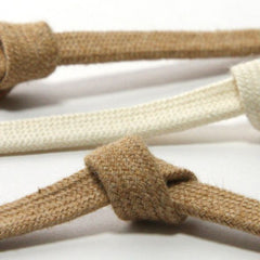 Organic Cotton Spindle Cord  #1 Natural White