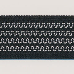 Non-Slip Knit Band  #01 Black & White