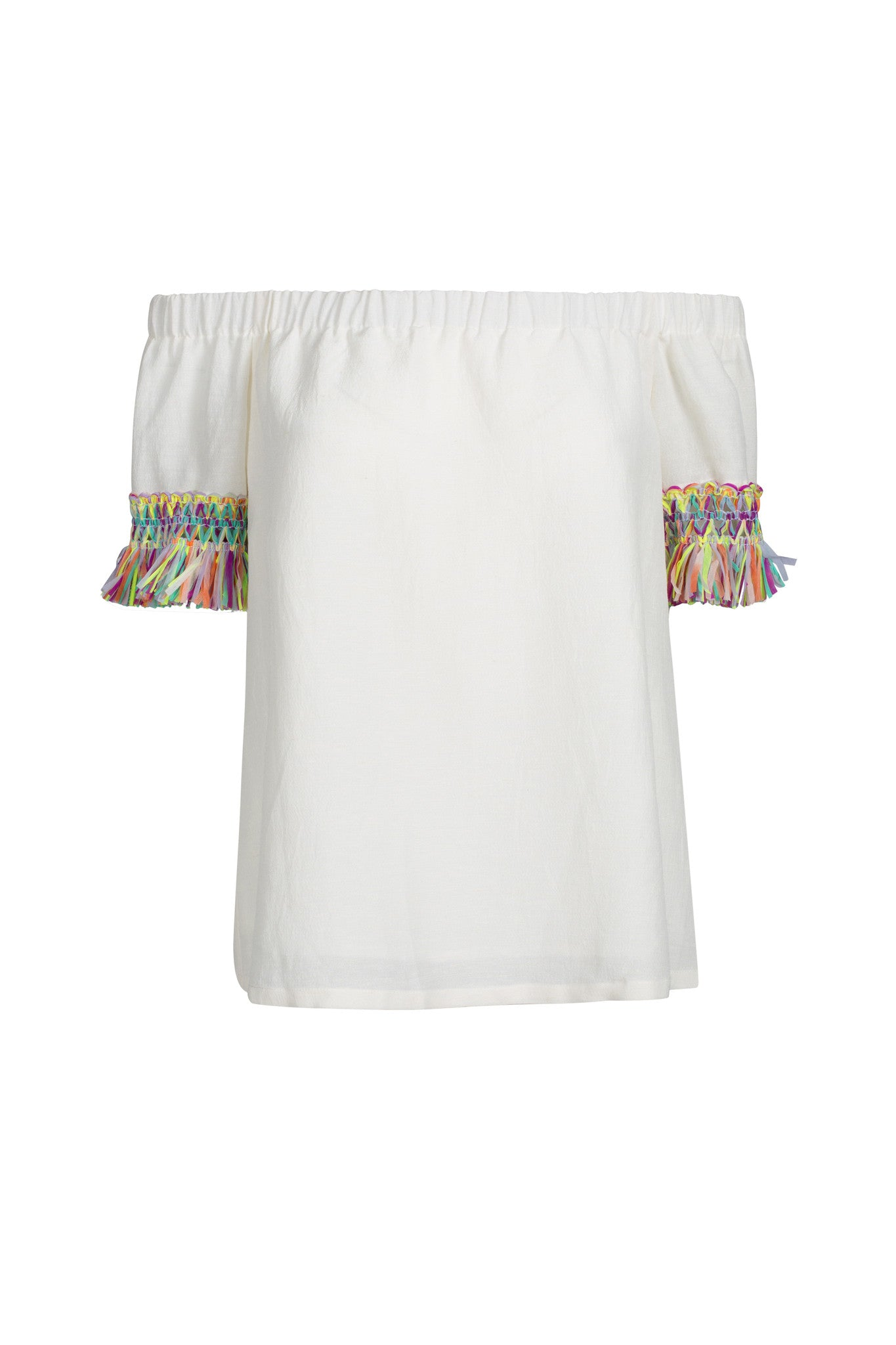 Hada Top - Ivory/Carnival
