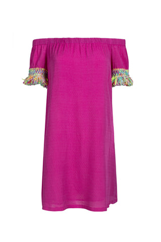 Tala Dress - Berry/Carnival