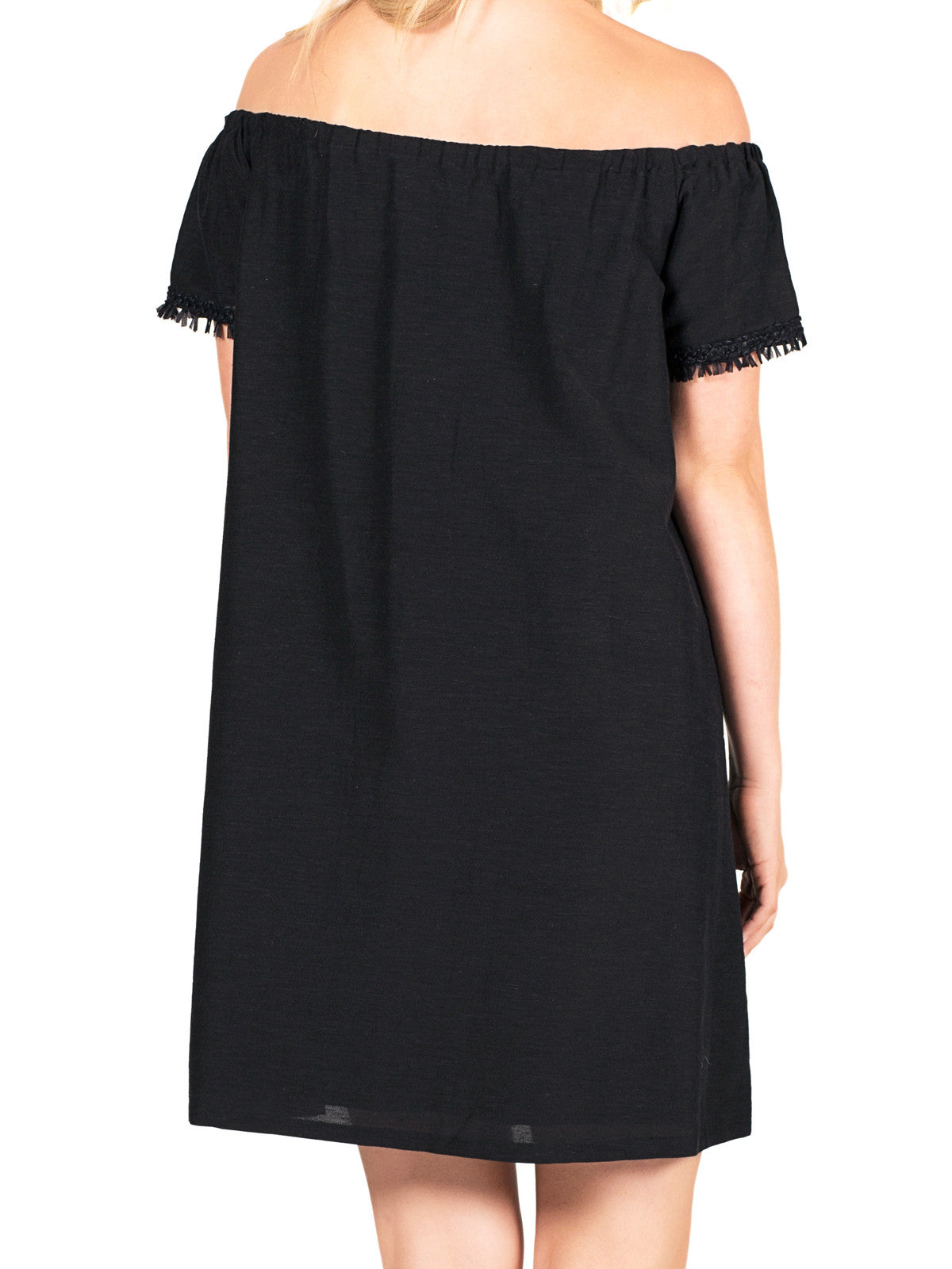 Tala Dress - Black/Black