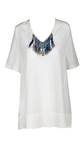 Savannah Top - Ivory