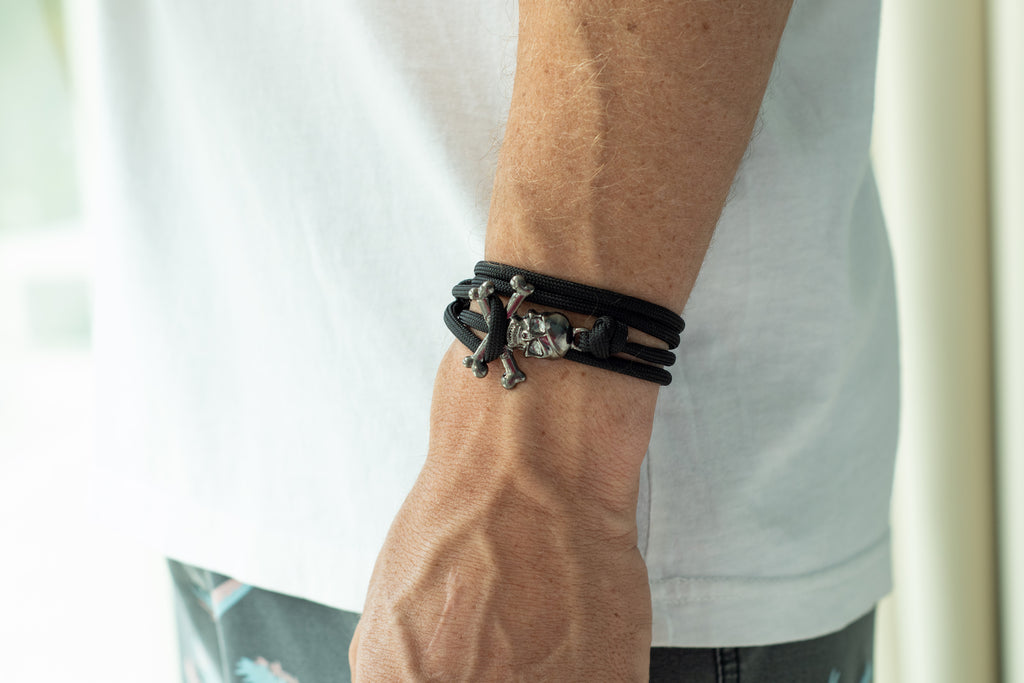 The Skullywag Bracelet - Blackbeard 4mm