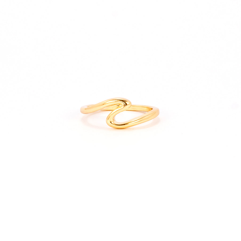 Waves for Days Ring - Gold