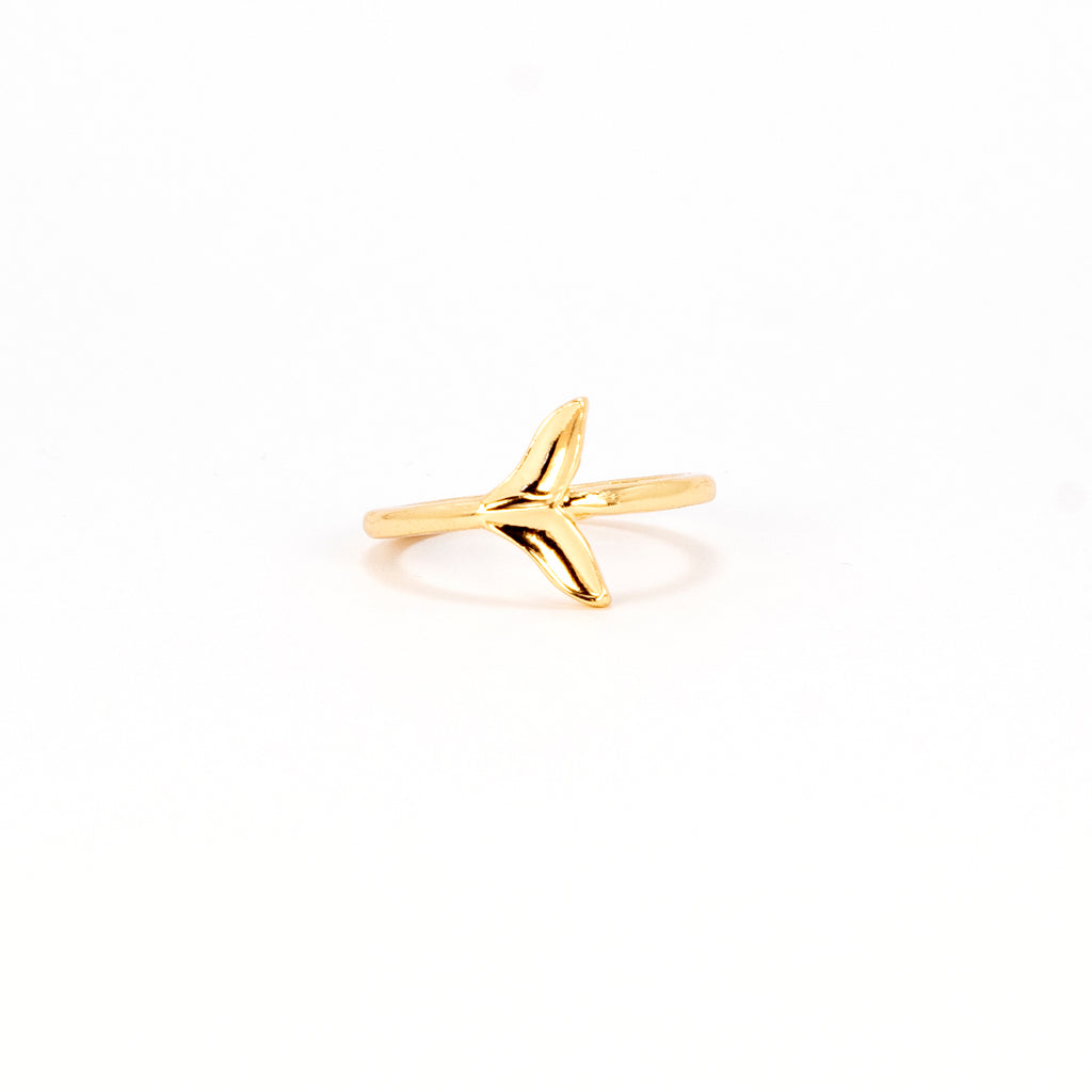 Mini Tails Ring - Gold