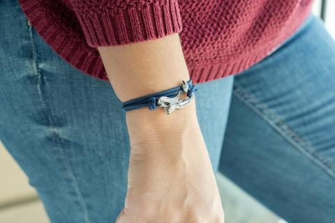 Sea Siren Bracelet - Navy