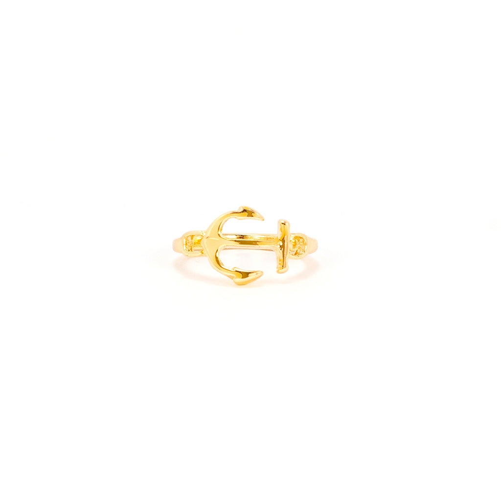 Midi Anchor Ring - Gold