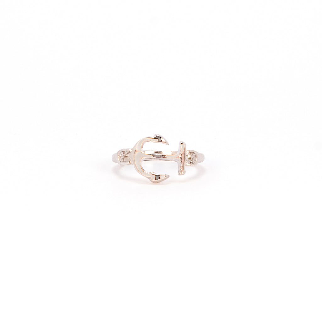 Midi Anchor Ring - Silver