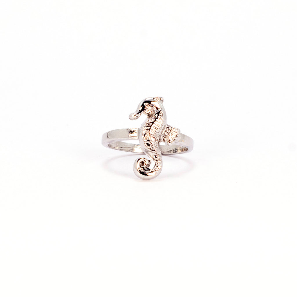 Seahorse Ring - Silver
