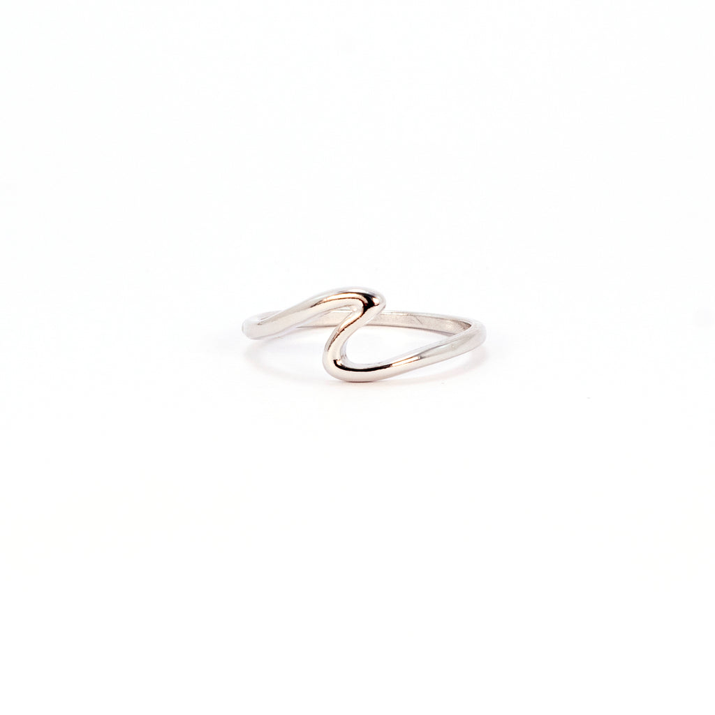 Waves for Days Ring - Silver