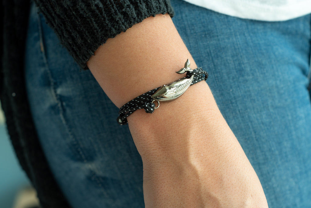 Humpback Whale Bracelet - Spotted Eagle Ray