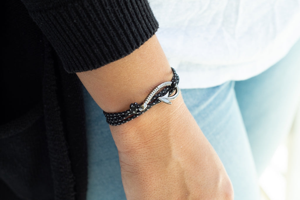 Fish Hook Bracelet - Spotted Eagle Ray