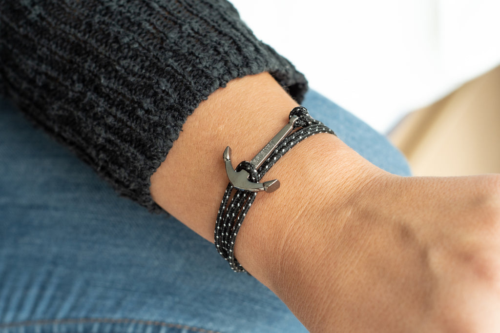 Anchor Bracelet - Spotted Eagle Ray