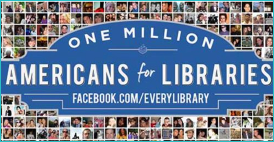 We're proud to support EveryLibrary and their mission to support libraries through advocacy.