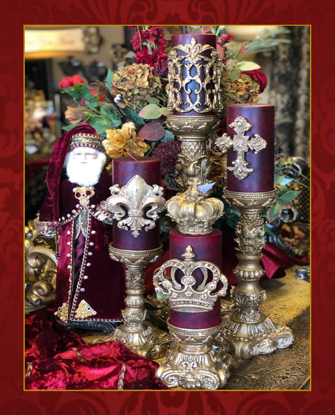 Old_world_decor-decorative_candles-fancy_candles-sir_oliver's_candles-candles_with_bling-reilly_chance