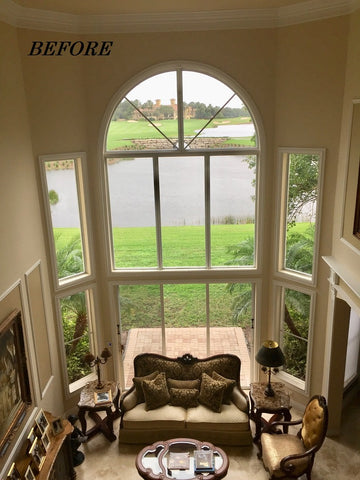 Arched_window_treatment_solutions-huge_windows-Arched_windows-silk_taffeta_drapery_panels-swags-curtains-living_room_decor-reilly_chance_collection