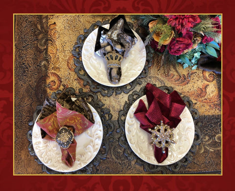 Decorative_napkins-Dining_napkins-Luxury_napkin_rings-fleur_de_lis_napkin_rings-Jeweled_napkin_rings-leopard_napkins-fancy_napkins-reilly_chance