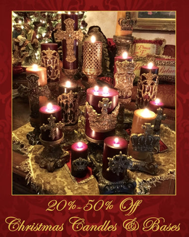 Old_word_style_candles-Christmas_candles-candle_holder_with_candles-opulent_candle_decor-candles_with_bling_crosses-bling_candles-embellished_candles-sir_oliver_s_candles-reilly_chance_739