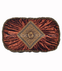 Accent_pillow-oval-rust_velvet-faux_mink-reilly_chance_collection_grande