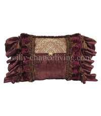 Decorative Rectangle Pillow Fuchsia