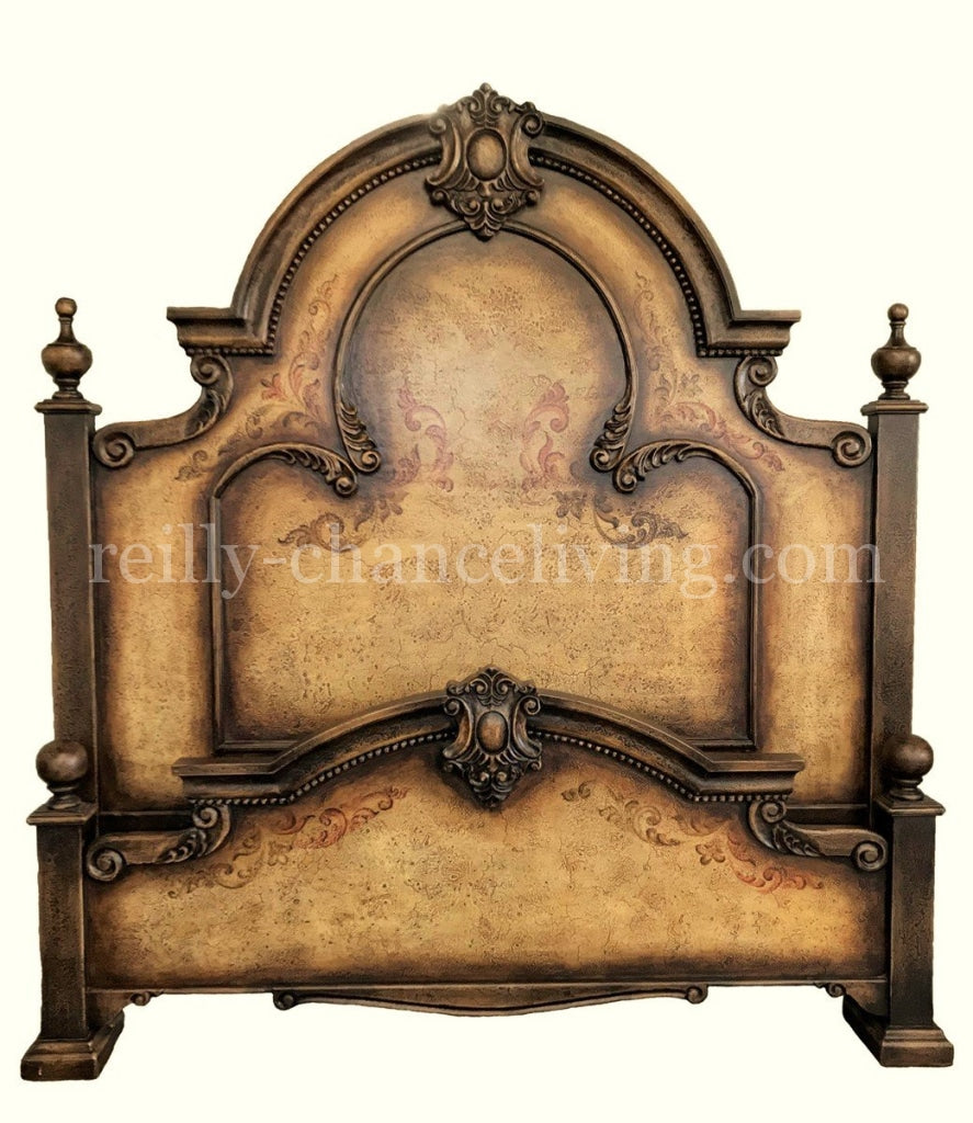 Barcelona_Peruvian_bed_in_Tusan_finish-Peruvian_Home_furnishings_Handpainted_Wood_King_Size-Old_world_decor-Montelana_bed-Old_world_bedroom_furniture-Isabella_king_bed-Hacienda_style