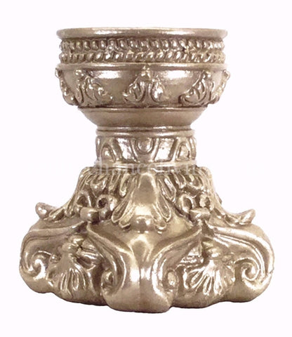 Decorative Champagne Candle Base 3x6