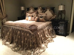 Designer_bedding-old_world_bedding-organza_sheer-gold_damask-reilly_chance_collection