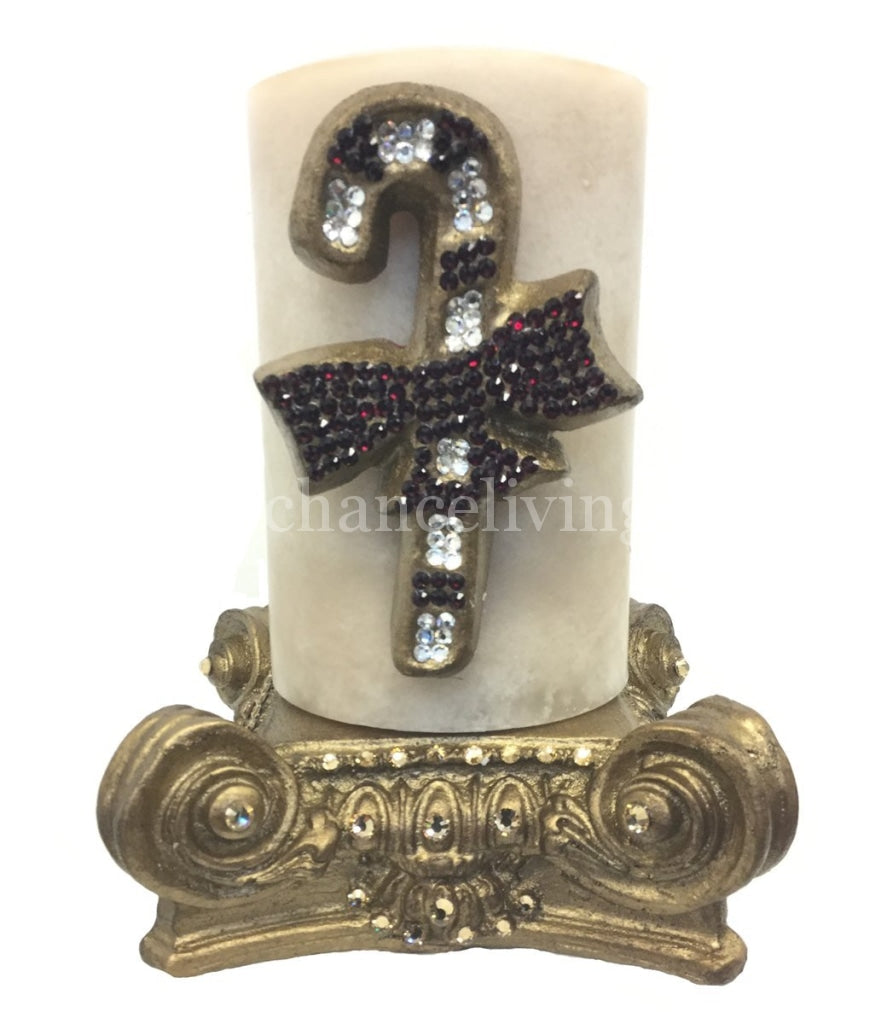 Christmas_candle-swarovski_jeweled_candy_cane-jeweled_candle_base-old_world_decor-sir_olivers_by_reilly_chance_collection_grande