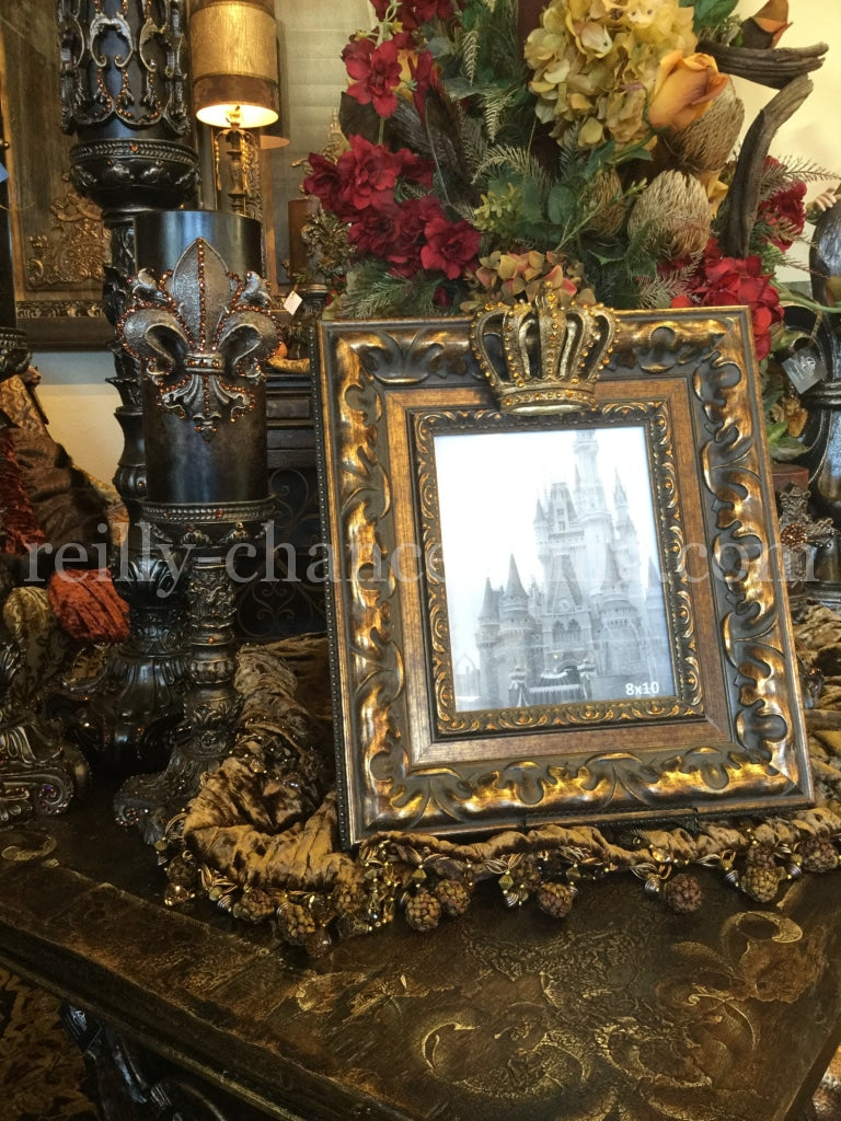 Crown_picture_frame-Old_world_frame-table_top_frame-old_world_decor-jeweled_frame-reilly_chance