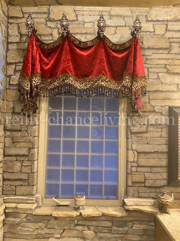 Decorative Valance and Jabots Style #2 Camelot