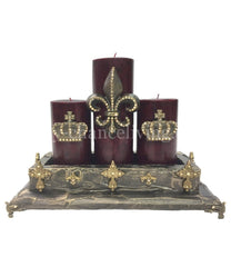Decorative_Candle-candle_set-candles-old_world_decor-reilly_chance_collection-old_world_style_candle