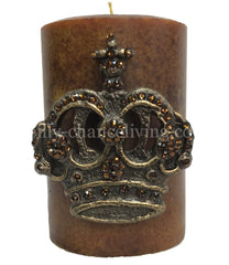 Decorative_candle-candle_bling-swarovski_jeweled_crown-candle_with_crown-4x6-sir_olivers_by_reilly_chance_collection