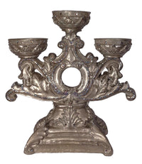 Decorative 3 Tier Candle Base for 4