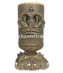 Decorative_candles-old_world_decor-6x9_candles-fancy_candles_huge_candles-Candle_with_crown-candles_with_bling-jeweled_candles-candle_bases-candle_holders-triple_scented_candles-sir_oliver_s_candles-reilly_chance